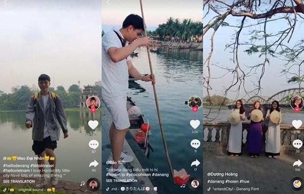 Promocionan atracciones turisticas de Vietnam en plataforma digital TikTok hinh anh 1