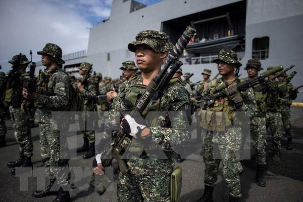 Realizaran Indonesia, Malasia y Filipinas ejercicio militar conjunto hinh anh 1
