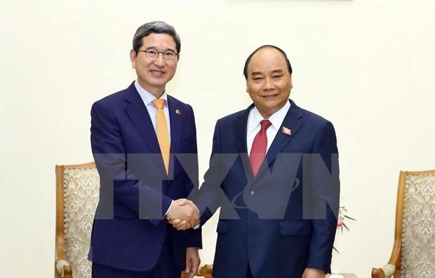 Destaca premier vietnamita papel de grupo parlamentario amistoso de Corea del Sur hinh anh 1