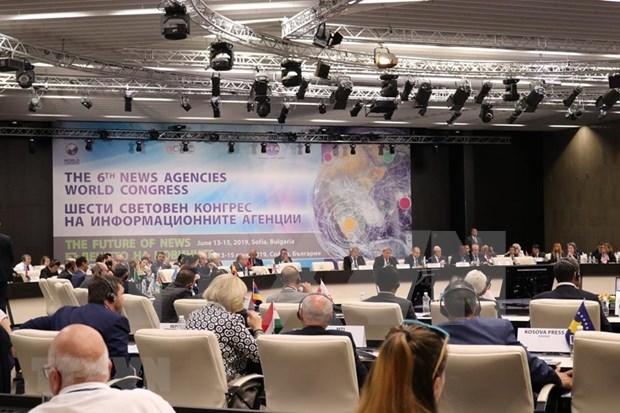 Participa VNA en Congreso Mundial de Agencias Noticiosas en Bulgaria hinh anh 1