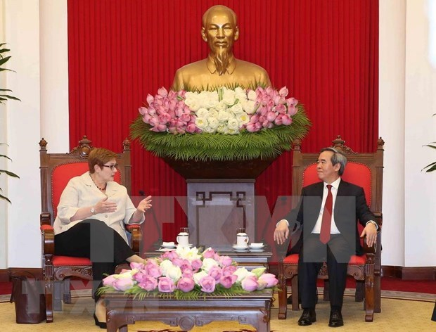 Ratifican importancia de asociacion estrategica Vietnam-Australia hinh anh 1