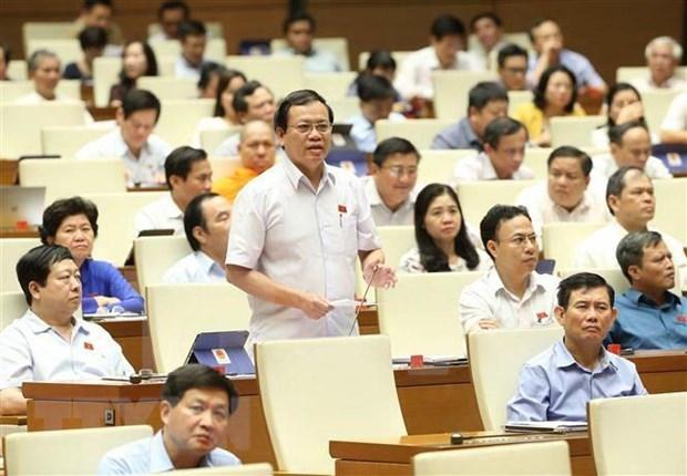 Votara hoy Parlamento de Vietnam tres leyes hinh anh 1