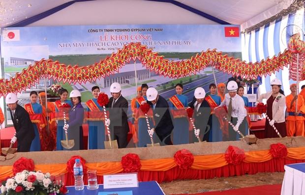 Construyen en provincia vietnamita fabrica japonesa de escayola hinh anh 1