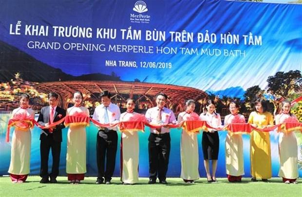 Inauguran en Khanh Hoa el mayor complejo de bano de lodo en Vietnam hinh anh 1