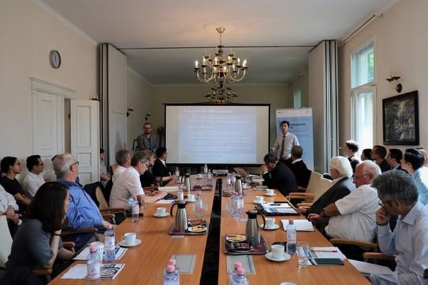 Intercambian Vietnam y Alemania experiencias del Programa de Innovacion para Pymes hinh anh 1