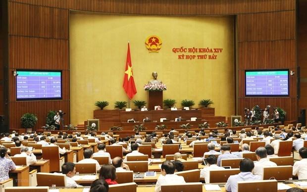 Concluira hoy VII periodo de sesiones de la Asamblea Nacional de Vietnam hinh anh 1