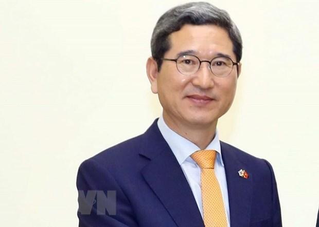 Conceden Orden de Amistad de Vietnam a legislador surcoreano hinh anh 1