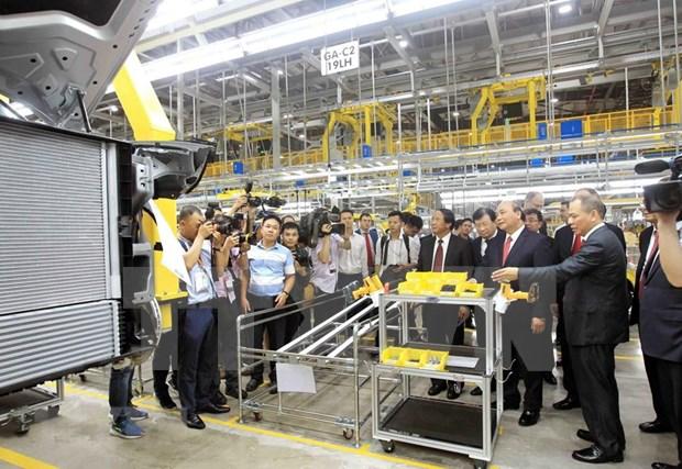 Inauguran en Vietnam fabrica de automoviles VinFast hinh anh 3