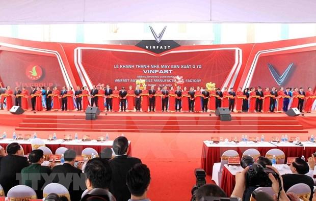 Inauguran en Vietnam fabrica de automoviles VinFast hinh anh 2