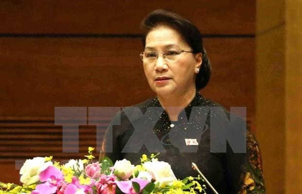 Concluye Asamblea Nacional de Vietnam VII periodo de sesiones hinh anh 1