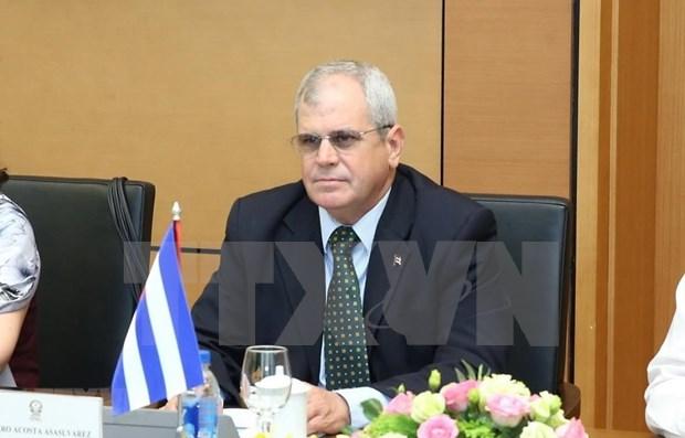 Intercambian Cuba y Vietnam experiencias en la reforma juridica hinh anh 1