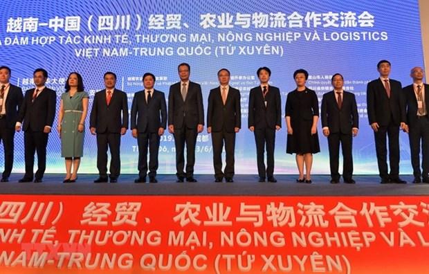 Apuesta Vietnam por incrementar el intercambio comercial y economico con China hinh anh 1