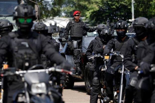 Detienen en Indonesia a 34 presuntos terroristas hinh anh 1