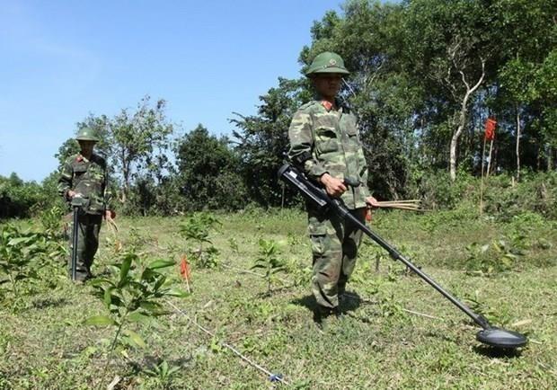 Provincia vietnamita continua acelerando mitigacion de consecuencias de bombas hinh anh 1