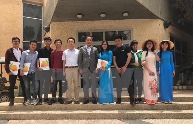 Vietnam e Israel robustecen colaboracion en educacion hinh anh 1