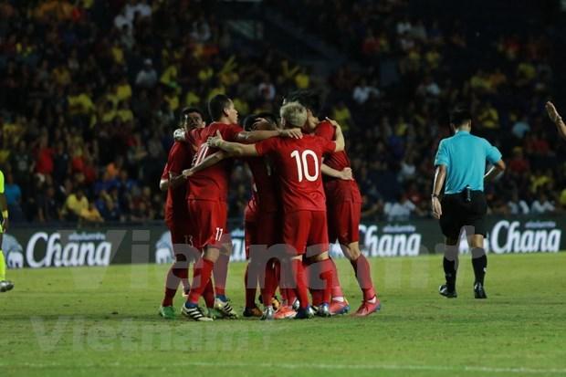 Vietnam mejora su posicion en ranking de FIFA hinh anh 1