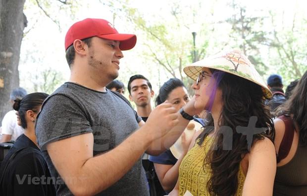 Vietnam participa en Feria Internacional de las Culturas Amigas en Mexico hinh anh 1