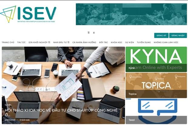 Presentan en Vietnam portal para comunidad de empresas emprendedoras hinh anh 1