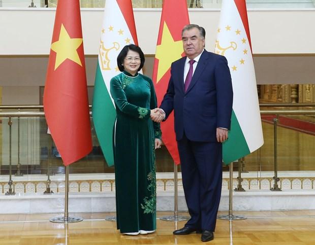 Sostiene vicepresidenta vietnamitas encuentros con dirigentes mundiales hinh anh 1