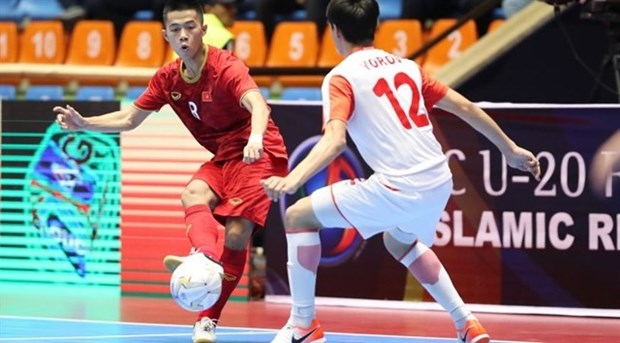 Vietnam se medira con Indonesia en cuartos de final del Campeonato Asiatico de Futsal Sub-20 hinh anh 1