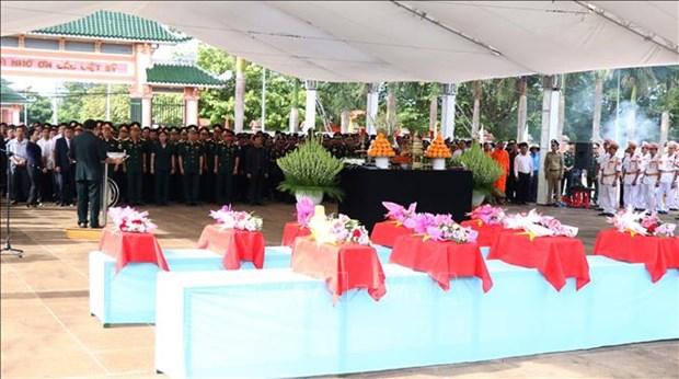 Intensifica provincia vietnamita de Thanh Hoa busqueda de restos de combatientes voluntarios hinh anh 1