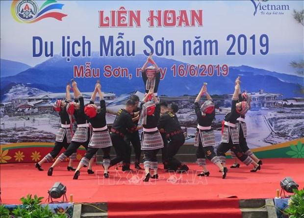 Celebran en Vietnam Festival de Turismo de Mau Son-2019 hinh anh 1