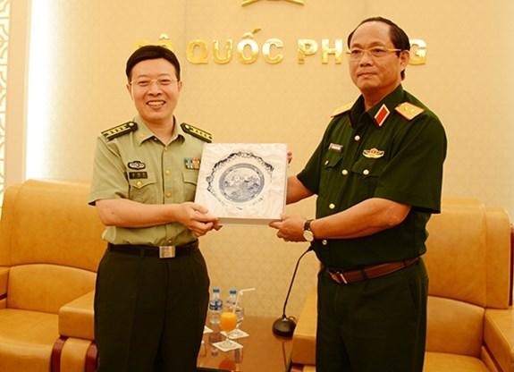 Destacan cooperacion practica Vietnam- China en defensa hinh anh 1