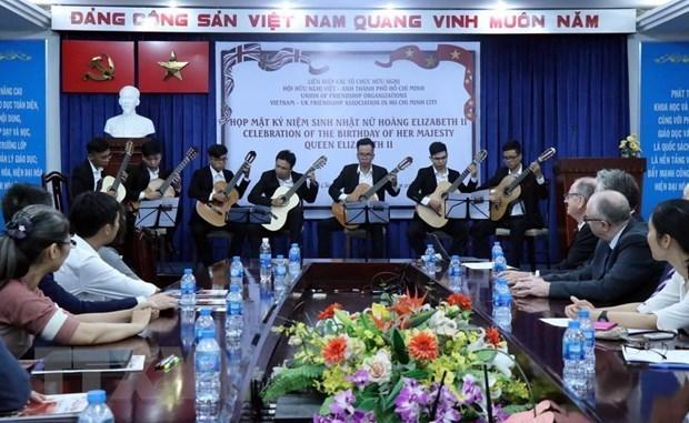 Celebran en Ciudad Ho Chi Minh cumpleanos de la reina britanica Isabel II hinh anh 1