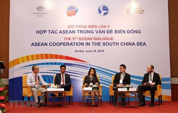 Dialogo Oceanico: Cooperacion de ASEAN en el Mar del Este hinh anh 1