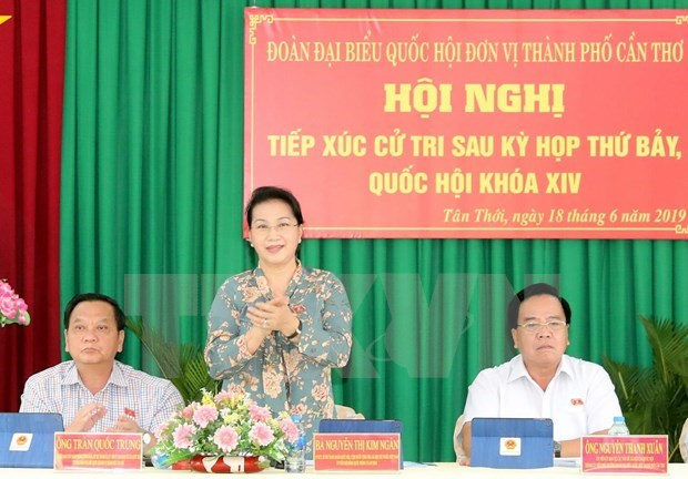 Ratifica maxima legisladora de Vietnam determinacion de fortalecer la lucha anticorrupcion hinh anh 1