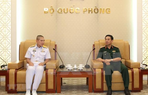 Intensifican Vietnam y Tailandia patrullas marinas hinh anh 1