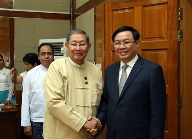 Vietnam se convierte en noveno socio comercial de Myanmar hinh anh 1