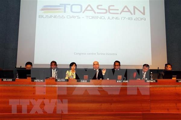 Promueven oportunidades de negocios entre Italia y ASEAN hinh anh 1
