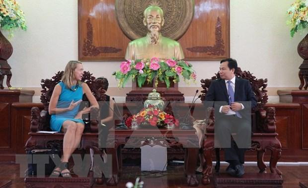 Extiende provincia vietnamita de Can Tho cooperacion con Estados Unidos hinh anh 1