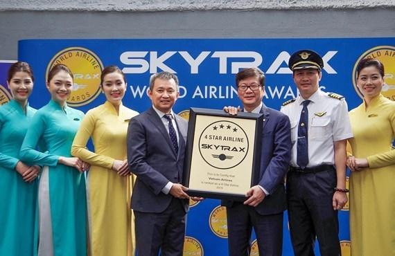 Certifican calidad de Vietnam Airlines como aerolinea de cuatro estrellas hinh anh 1