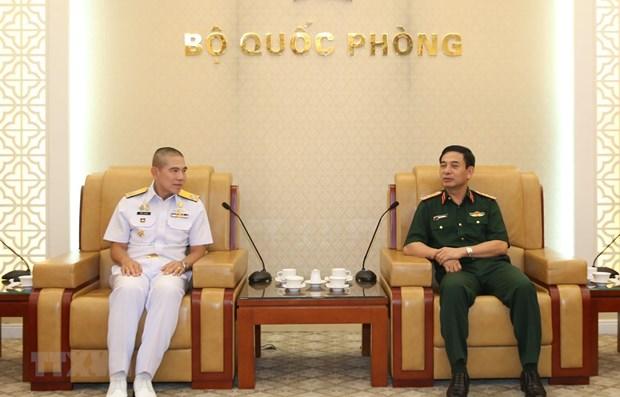 Fortalecen cooperacion Fuerzas Navales de Vietnam y Tailandia hinh anh 1