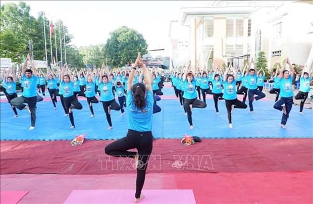 Celebraran en Vietnam el V Dia Internacional del Yoga hinh anh 1