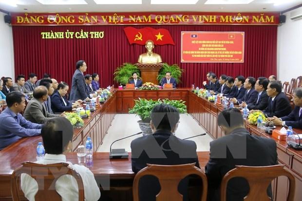 Impulsan localidades de Vietnam y Laos cooperacion en agricultura hinh anh 1