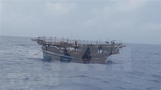 Cumple Vietnam responsabilidad internacional de asistencia humanitaria en el mar hinh anh 1