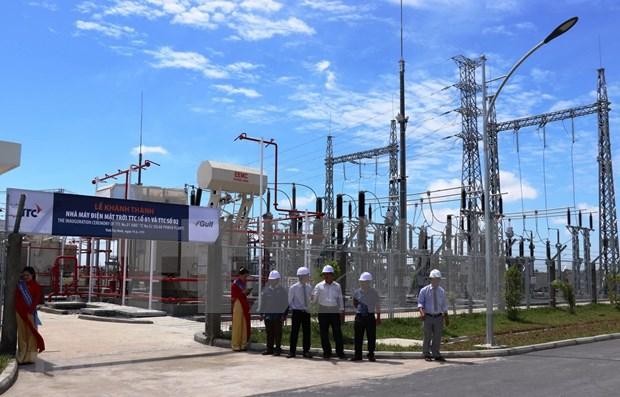 Inauguran dos nuevas plantas solares en Vietnam construidas con participacion de Tailandia hinh anh 1