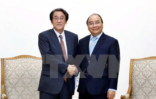 Destaca premier de Vietnam alta confianza politica con Japon hinh anh 1