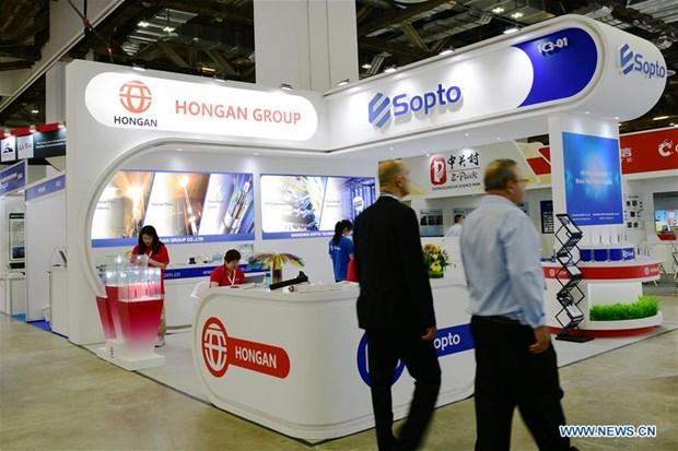 Presentan empresas vietnamitas sus productos en exposicion Asia ConnecTech 2019 en Singapur hinh anh 1