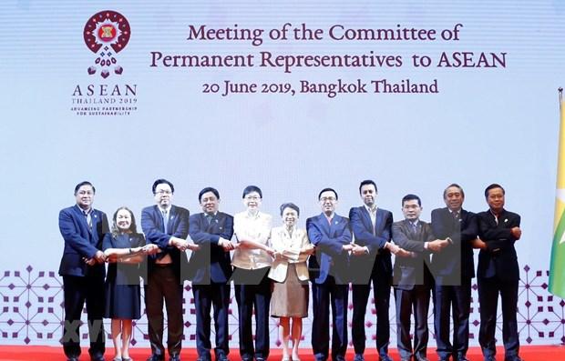Inician en Tailandia reuniones en el contexto de la XXXIV Cumbre de la ASEAN hinh anh 1
