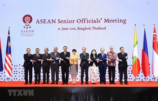 Vietnam participa en reunion de altos funcionarios de ASEAN en Tailandia hinh anh 1
