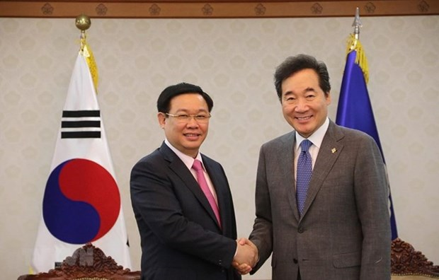Vietnam y Corea del Sur aspiran a comercio bilateral de 100 mil millones de USD para 2020 hinh anh 1