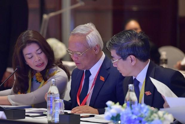 Asiste Vietnam a reunion de Asamblea Interparlamentaria de la ASEAN en Tailandia hinh anh 1