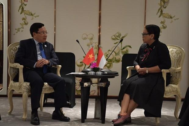 Vietnam esta decidido a fortalecer relaciones con Indonesia, afirma su viceprimer ministro hinh anh 1