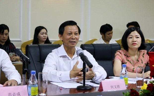 """Vietnam y China impulsan proyecto turistico """"Dos paises, seis destinos"""" hinh anh 1"""