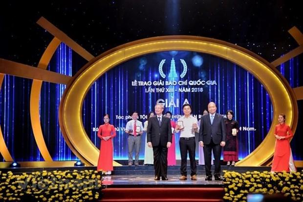 Honran en Hanoi a 106 obras destacadas en Premio Nacional de Prensa de Vietnam hinh anh 1