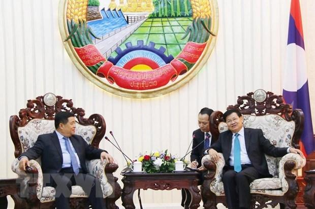 Vietnam y Laos incrementen cooperacion e inversion hinh anh 1
